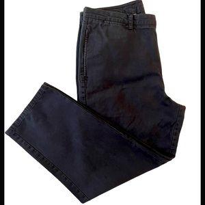 Nautica Navy Blue Casual Straight Leg Pants 38x32